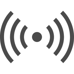 電波 ビーコンのアイコン